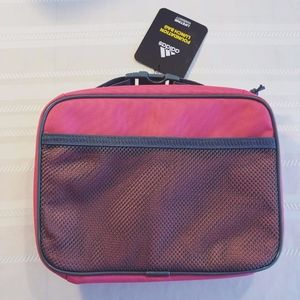 adidas Bags - Adidas Lunch Tote Pink Blue
